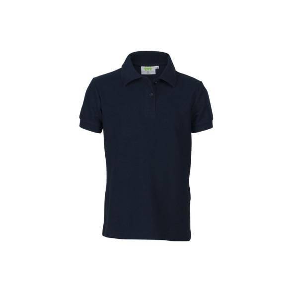 Poloshirt, short sleeves, Girls