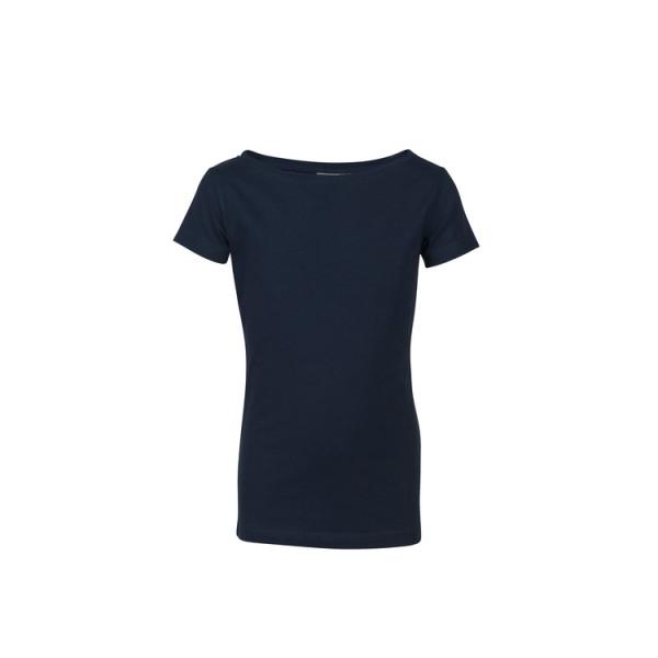 Boatneck-Shirt, short sleeves, Girls