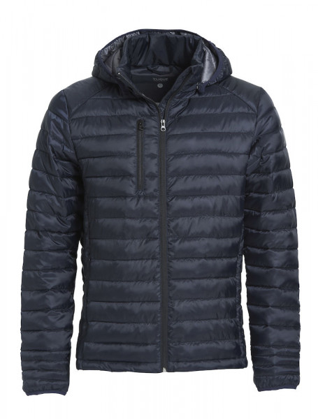 quilted jacket with down-like padding, men/unisex