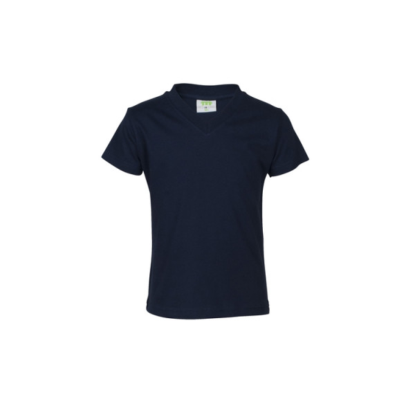 T-Shirt, short sleeves, v-neck, Girls